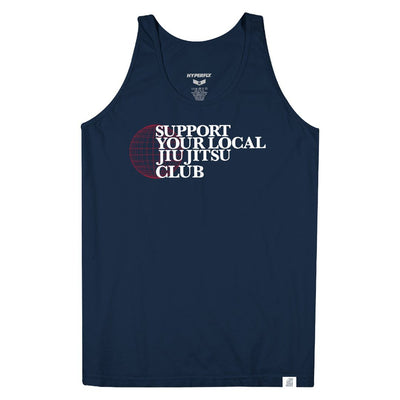 Support Your Local Jiu Jitsu Club - Tank Top Apparel - Tee Hyperfly X Small
