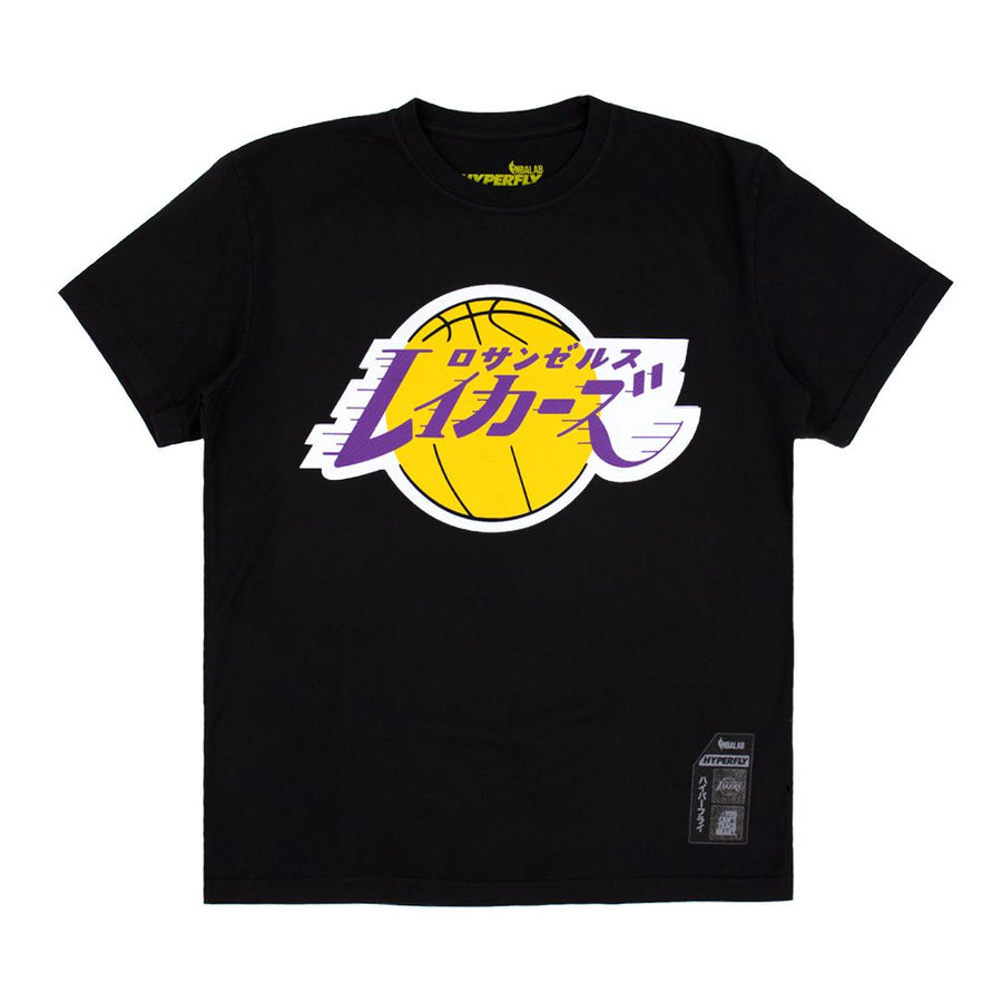 The Hyperfly Laker Katakana Tee Apparel - Tee Hyperfly X Small