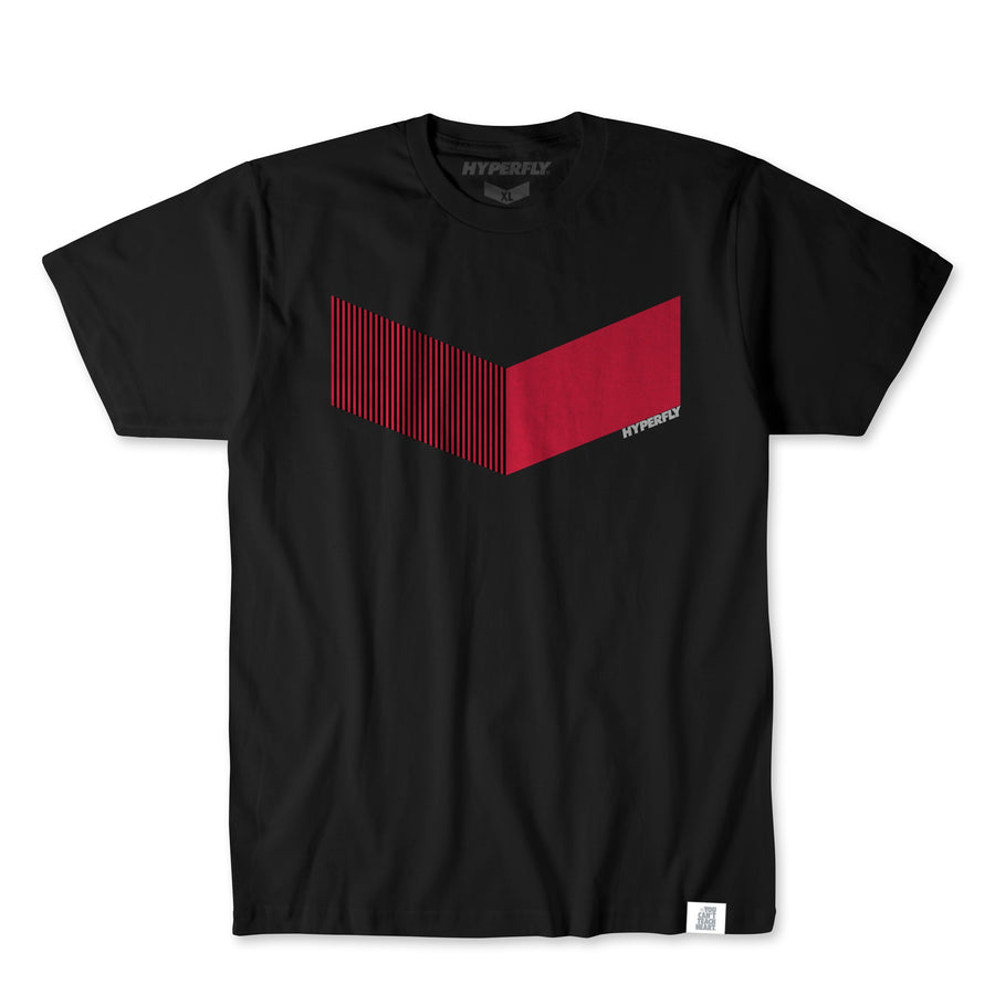 The Iconic Tee Apparel - Tee Hyperfly Red X Small