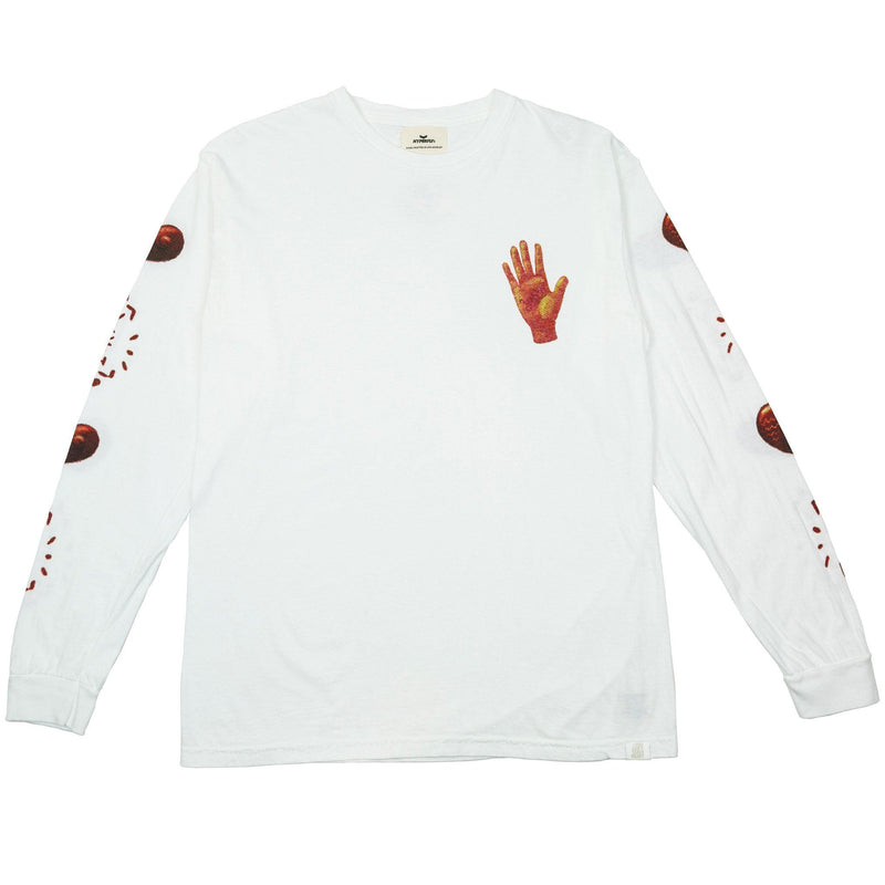 The YCTH.Love Long Sleeve Hyperfly White X Small