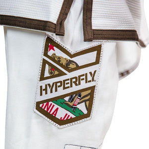Thrift - Junior California Gi - White / M000 Kimono - Thrift Hyperfly
