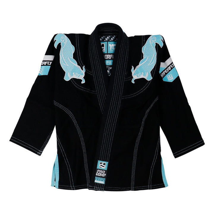 Thrift - Junior Koi Fish Edition - Black / M00 Kimono - Junior Hyperfly