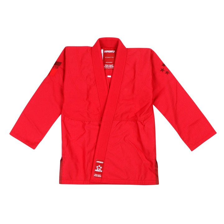 Thrift - Junior Starlyte Red KIMONO / GI DO OR DIE J6 Jacket / J5 Pants