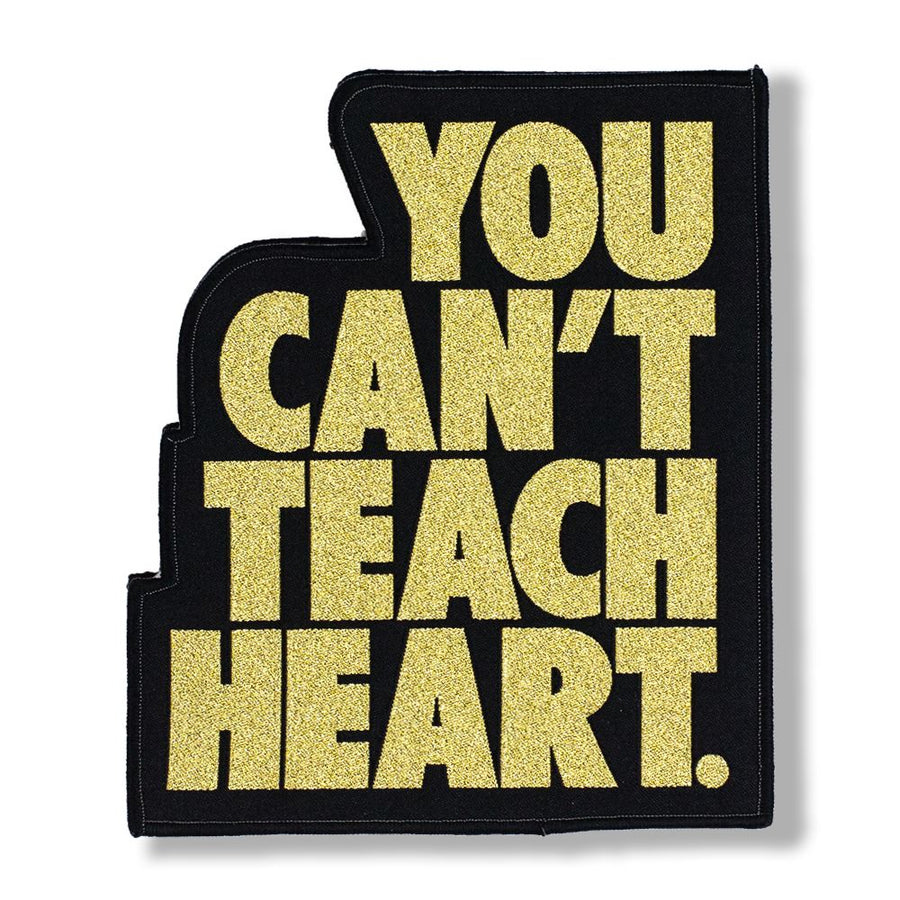 White You Can't Teach Heart. Patch Patch DO OR DIE
