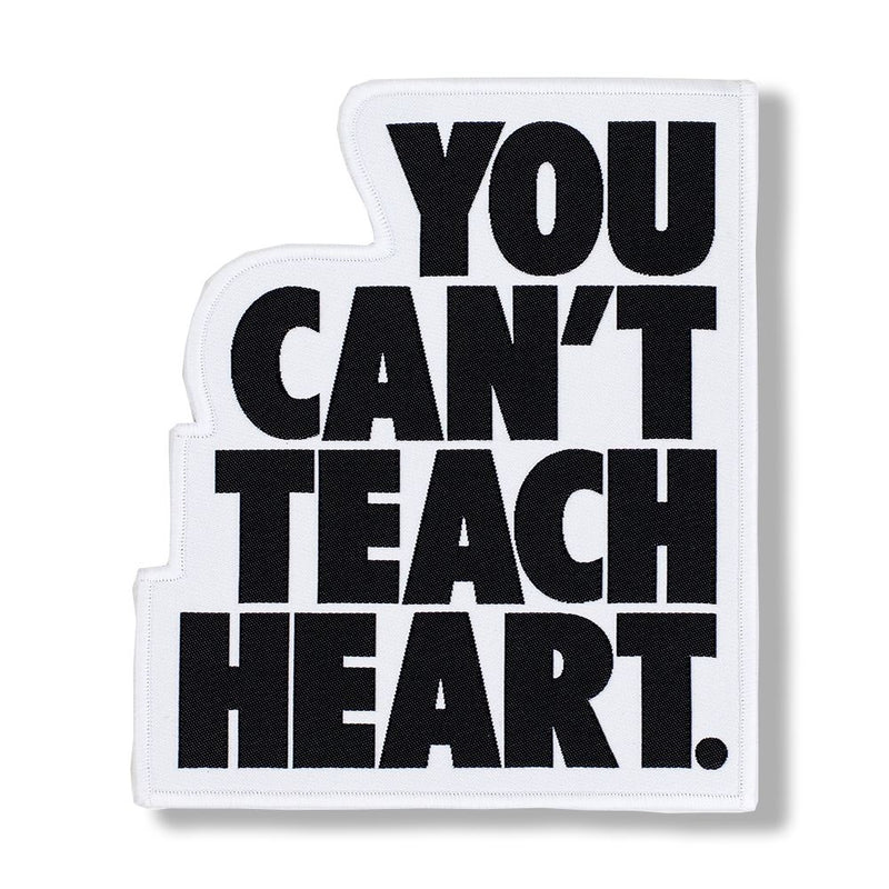 White You Can't Teach Heart. Patch Patch DO OR DIE Black YCTH