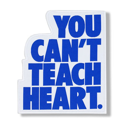 White You Can't Teach Heart. Patch Patch DO OR DIE Blue YCTH