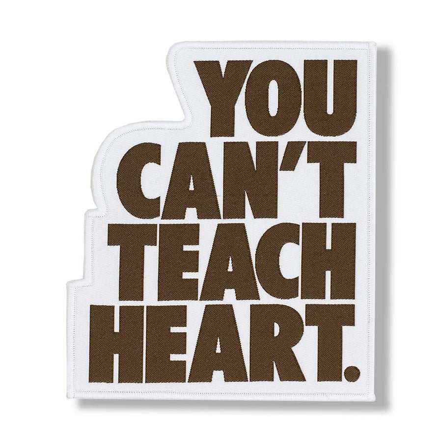 White You Can't Teach Heart. Patch Patch DO OR DIE Brown YCTH