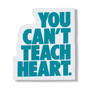 White You Can't Teach Heart. Patch Patch DO OR DIE Dark Teal