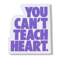 White You Can't Teach Heart. Patch Patch DO OR DIE Pastel Violet