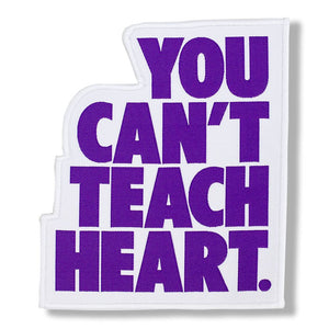 White You Can't Teach Heart. Patch Patch DO OR DIE Purple YCTH