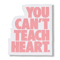 White You Can't Teach Heart. Patch Patch DO OR DIE Rose Quartz