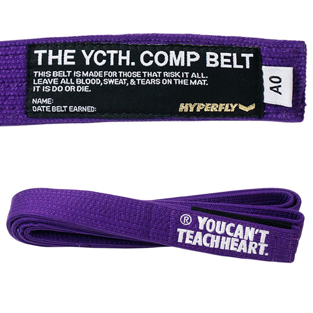 YCTH. Comp Belt Gi Belts DO OR DIE Purple A0