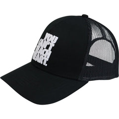 YCTH. Trucker Mesh Cap Headwear Hyperfly Black