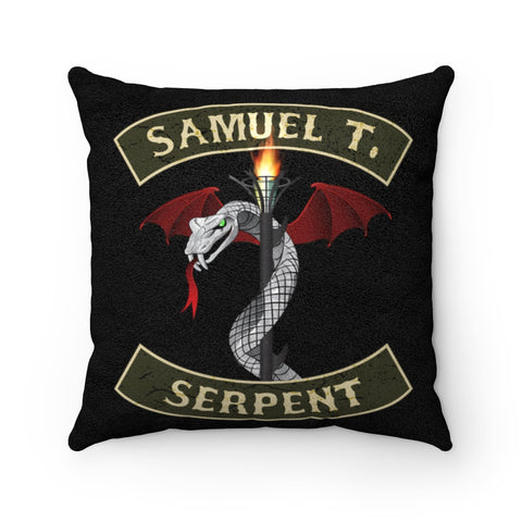 Sam The Serpent - Pillow