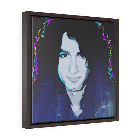 Bruce Kulick - Square Framed Premium Gallery Wrap Canvas