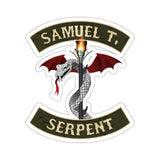 Sam The Serpent - Stickers