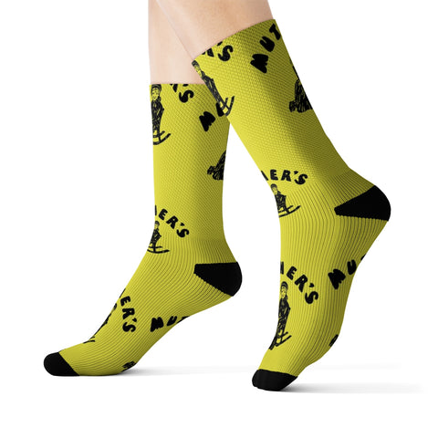 Muther's Music Emporium - All Over Print Socks