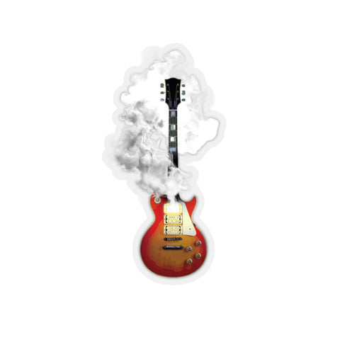 Smoking Guitar - Stickers