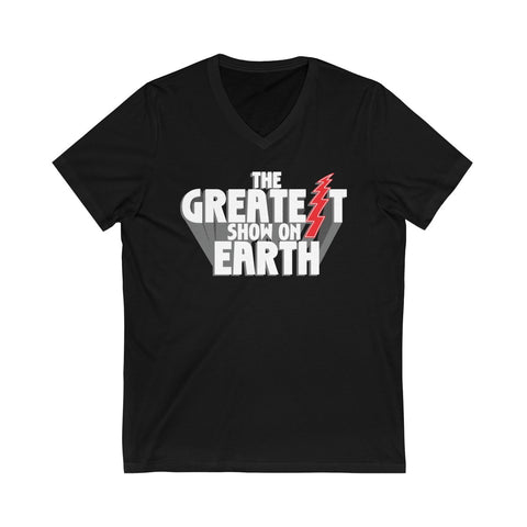 The Greatest Show On Earth - Men's V-Neck Tee