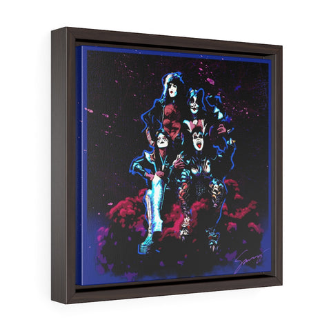 Destroyer - Square Framed Premium Gallery Wrap Canvas
