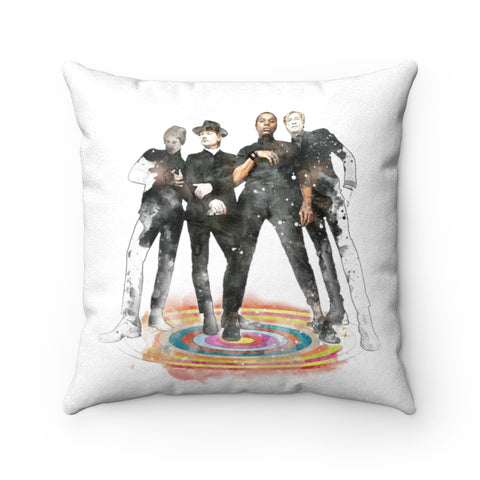 Vintage Trouble Stand - Double-sided Pillow