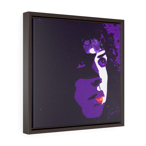 The Starchild - Square Framed Premium Gallery Wrap Canvas