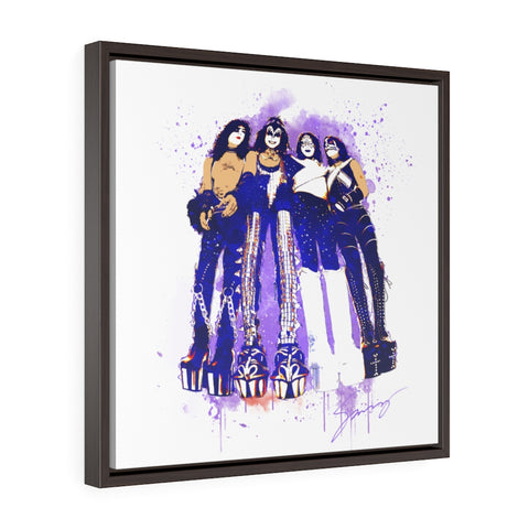 ALIVE 96 - Square Framed Premium Gallery Wrap Canvas