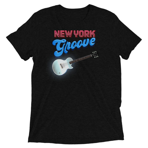 New York Groove - Men's Tri-Blend Tee