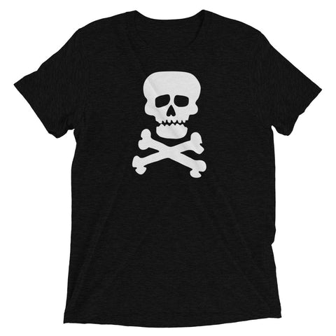 Demon Skull - Men's Tri-Blend Tee