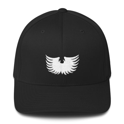 Spaceman Eagle Wings - Embroidered Baseball Hat