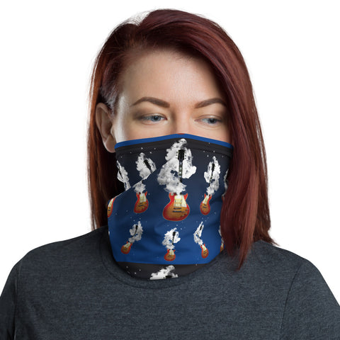 Smoking Guitar - Neck Gaiter