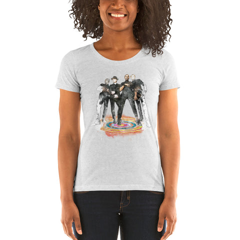 Vintage Trouble Stand - Ladies Classic Tee