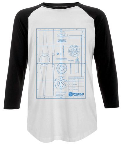 Wind Turbine Techie Long Sleeve Tee - Unisex