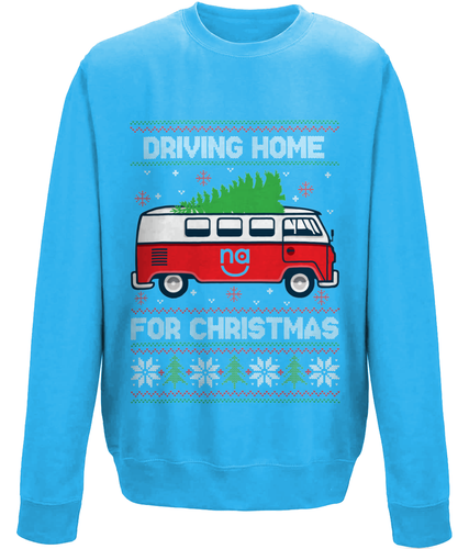 Driving Home For Christmas - Unisex Sweater (8 Colours)
