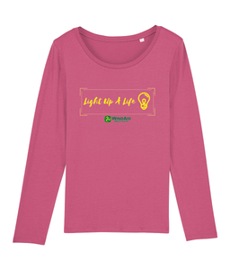 Light Up a Life Long Sleeve Tee - Ladies