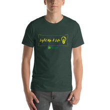 Load image into Gallery viewer, Light Up a Life Unisex T-Shirt (6 colours)