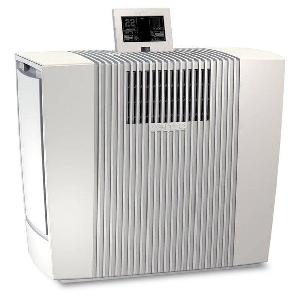 Venta LW62T Smart Home Wi-Fi Humidifer 250sqm and Air Purifier 150sqm, Venta App, remote control, White. - o2health