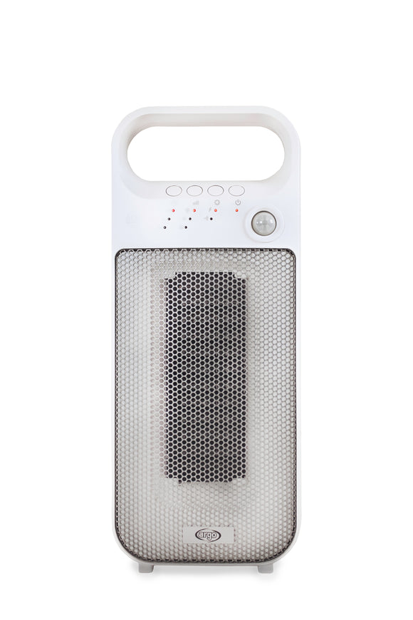 Argo Dream-Ceramic Fan heater with presence sensor. -o2health
