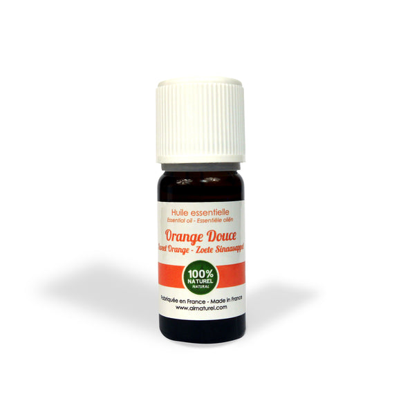 Airnatural Organic, natural essential oil Sweet orange - 10 ml - o2health