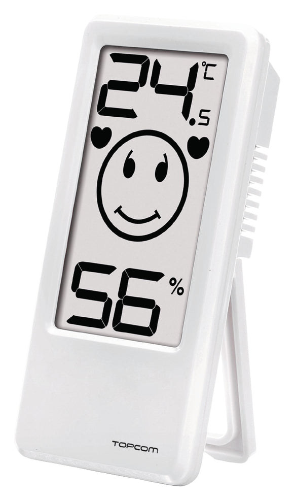Topcom Thermometer/Hygrometer Inland Wit - o2health