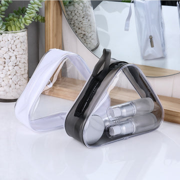 Waterproof Travel Clear Makeup Bag Organizer Transparent PVC Beautician Cosmetic Bags Beauty Toiletry Bag Make Up Pouch Wash Bag