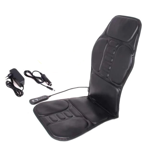 ProV2 Electric Back Thighs Buttocks Massage Heated Seat Cushion Chair Pad