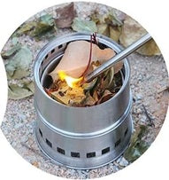 Portable Stainless Steel Camping Stove Burner