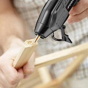 Rechargeable Cordless Hot Glue Gun with 10 Glue Sticks