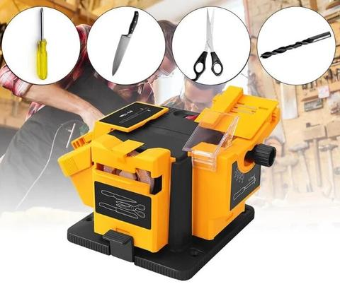 Electric Multifunctional Knife Sharpener Drill Bit Scissors Honing Tool