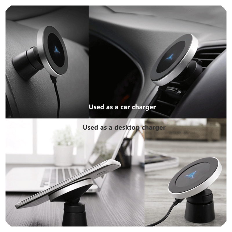 Magnetic Wireless Car Charger Qi Mount