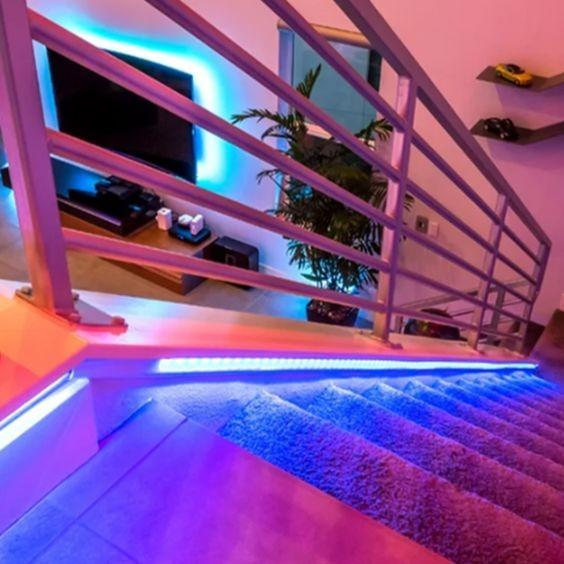 Color Changing LED Light Strip with Remote - 50ft