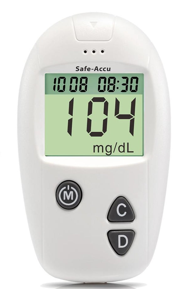 Accu Blood Glucose Meter Diabetes Tester Glucometer (with 100 Test Strips)