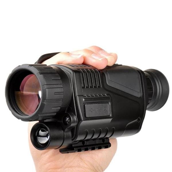 Infrared Pitch Black Night Vision Monocular with Camera