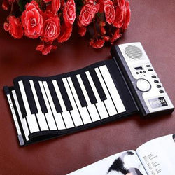Portable Electric Roll Up Keyboard Piano